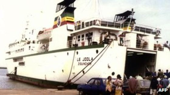 The MV Joola