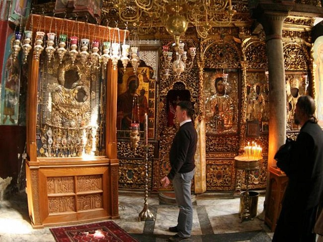 young boys weren't allowed on Mount Athos