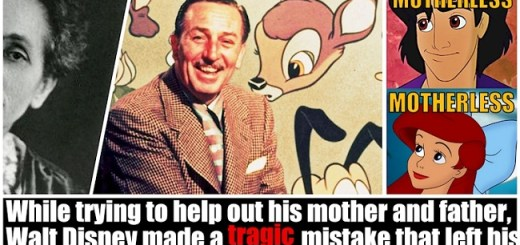Did you know why Disney characters have no mothers The answer is heartbreaking
