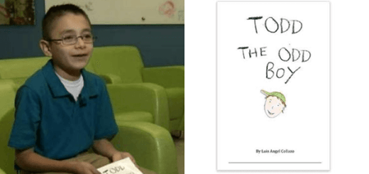 A 10 Year old Cancer patient despite being bullied at school wrote a book with the most beautiful message to society