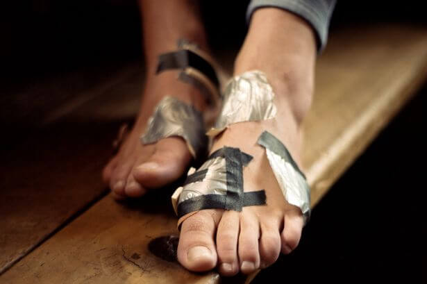 How to keep feet safe from blisters