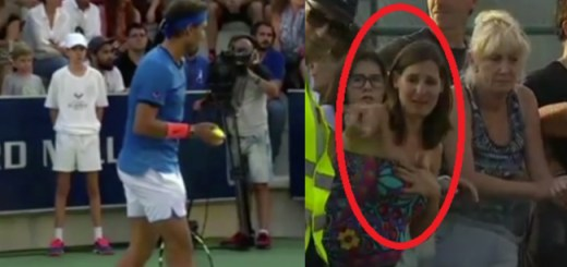 Rafael Nadal stopped a tennis match and the reason is heartwarming