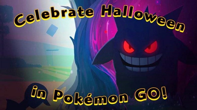 Celebrate Halloween in pokemon go
