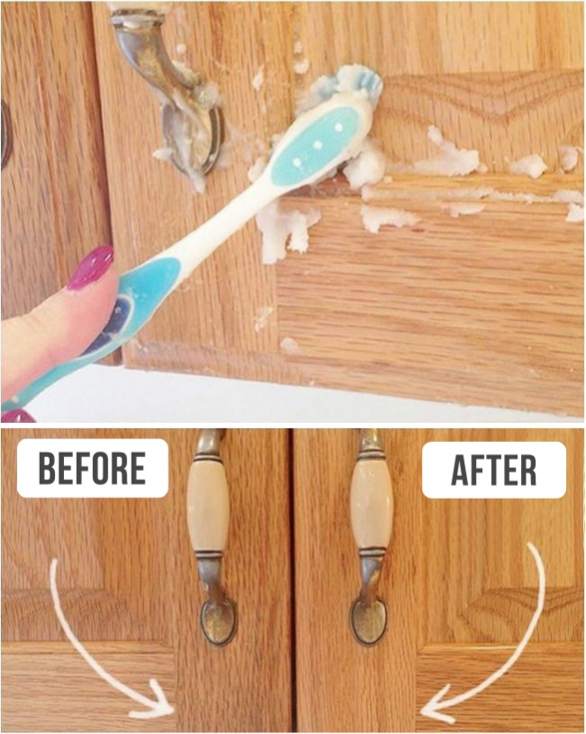 Cleaning a Cupboard