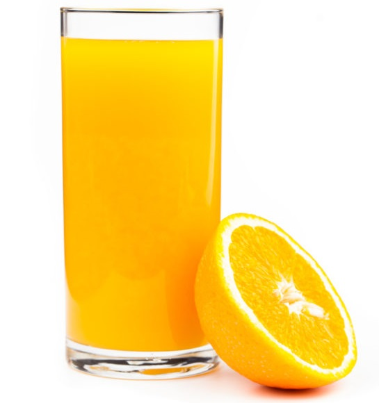 Commercial fruit juice