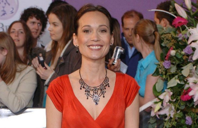 Leah Bracknell who played Zoe Tate in Emmerdale