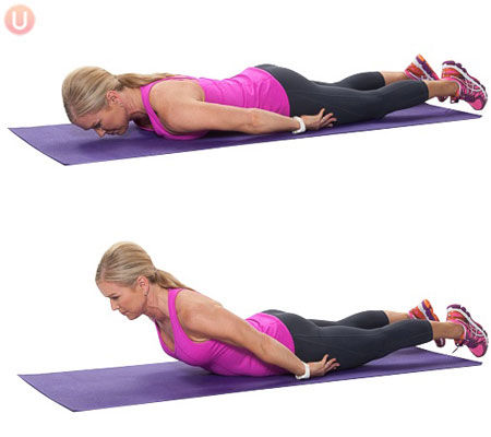 The back extension for improved posture and health