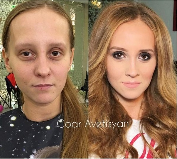 how makeup can transform looks