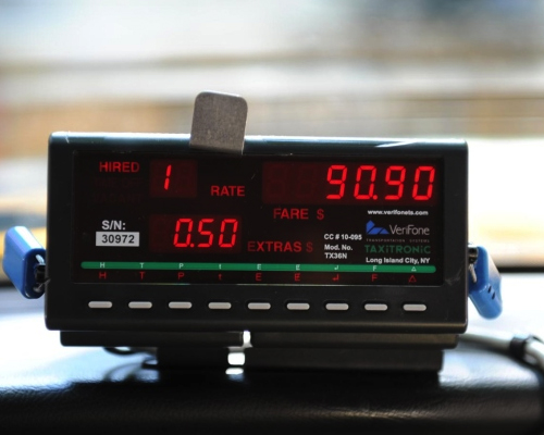 taxi meter charges