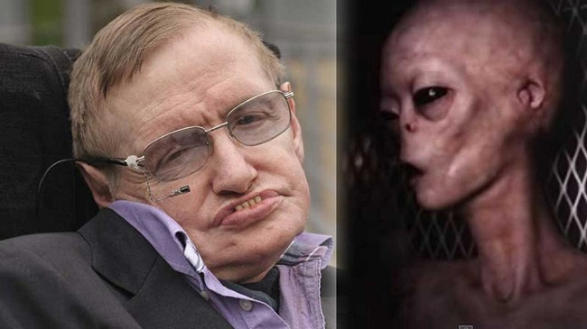 Hawking Believes in the Possible Existence of Aliens