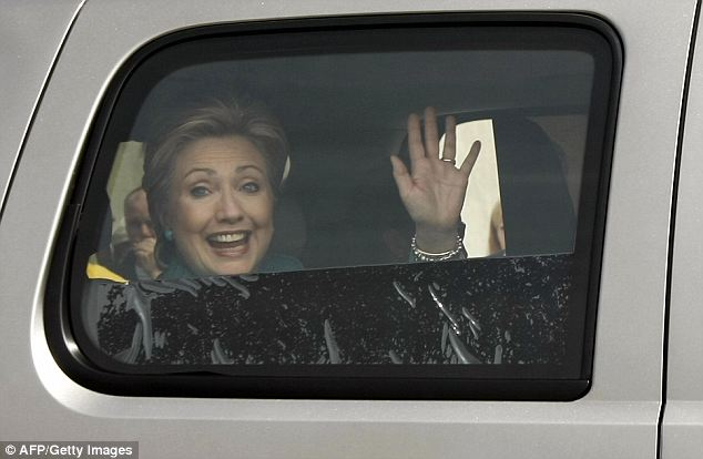 Hillary Clinton has never driven a car since 1996