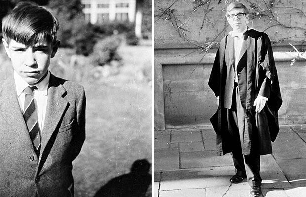 Stephen Hawking school, college days