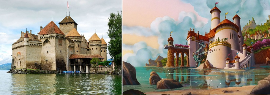 The Little Mermaid – Chateau De Chillon