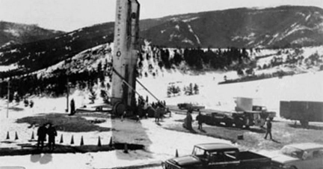 Air Force Base Missile Incident, 1967