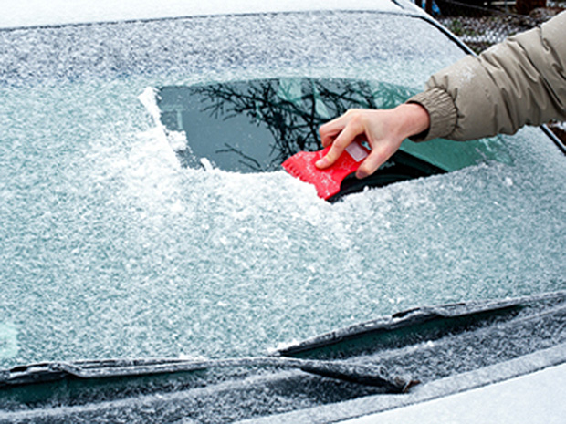 The headache of frosted windshield