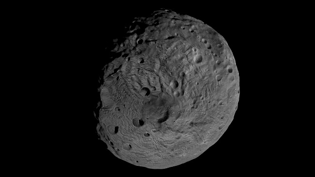 The huge asteroid