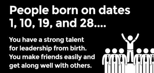 This is what your birth date says about your personality