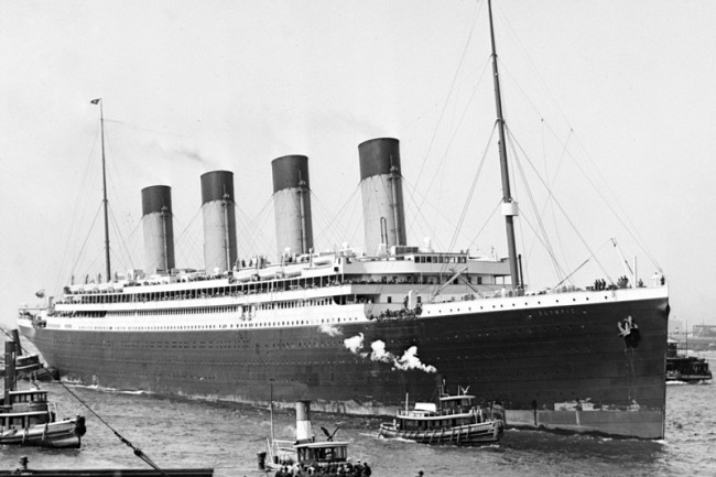 Titanic's fourth funnel was a complete fake
