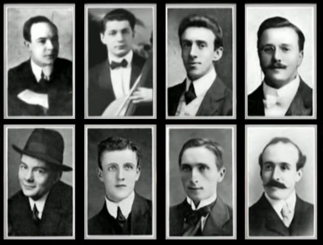 brave heart musicians who sank while playing hymns In Titanic