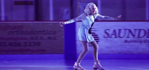 A National figure Skater at 90 years proves that age is just a number