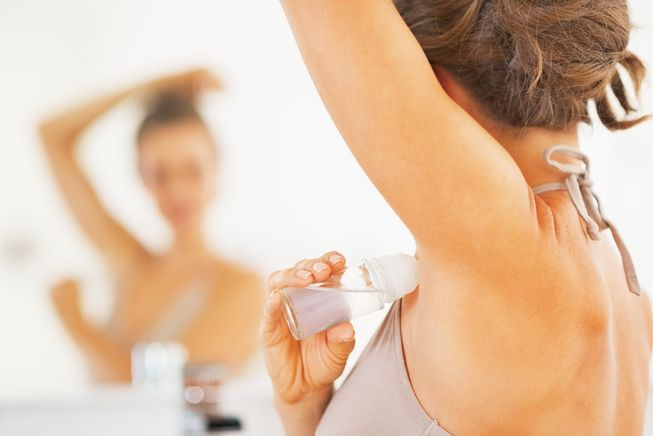 Baking soda can be used as deodorant