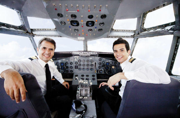 Captain and Co Pilots