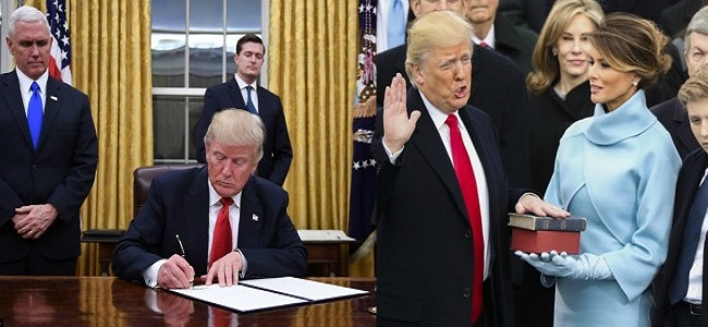 The Donald Trump era begins in United States of America as he takes oath as 45th President