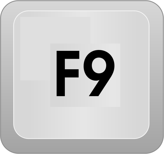 Uses of Function key F9