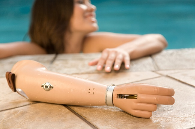 Flexible prosthetic arm enables future improvement