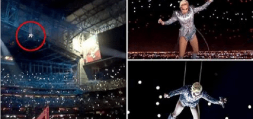 How Lady Gaga faked her Super Bowl Jump to make it seem as if she really jumped down 260 feet