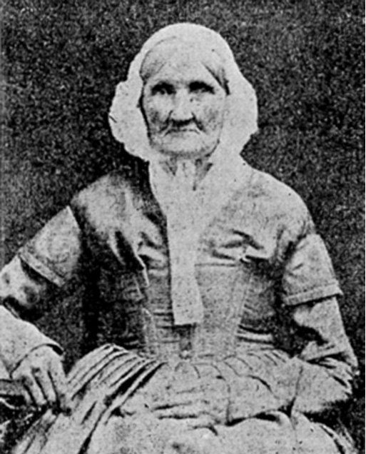 Photograph of Earliest Born Woman