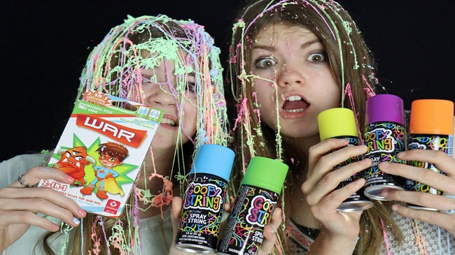 Silly String in Southington, Connecticut