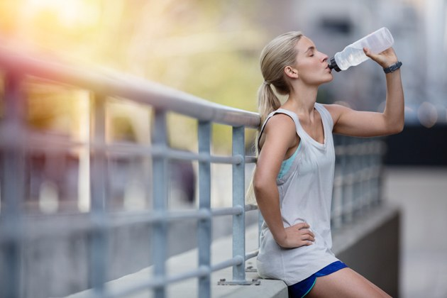 Drinking water aids in weight loss