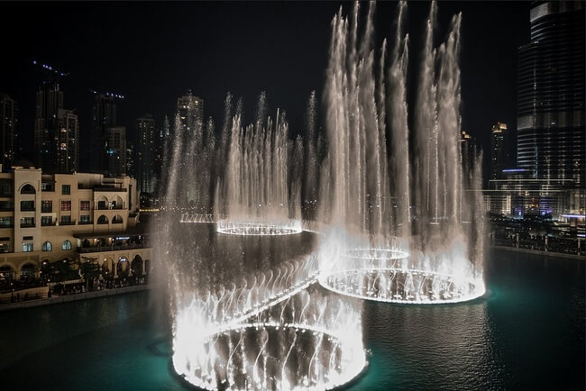 Dubai Fountains, United Arab Emirates