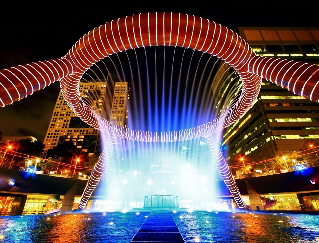 The Fountain of Wealth, Singapore