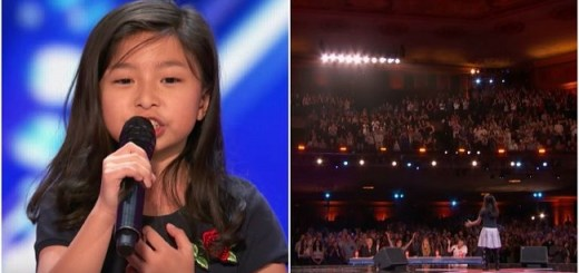 Watch The Audition Of This 9 Year Old Girl Who Stuns The Entire House And Judges On America's Got Talent