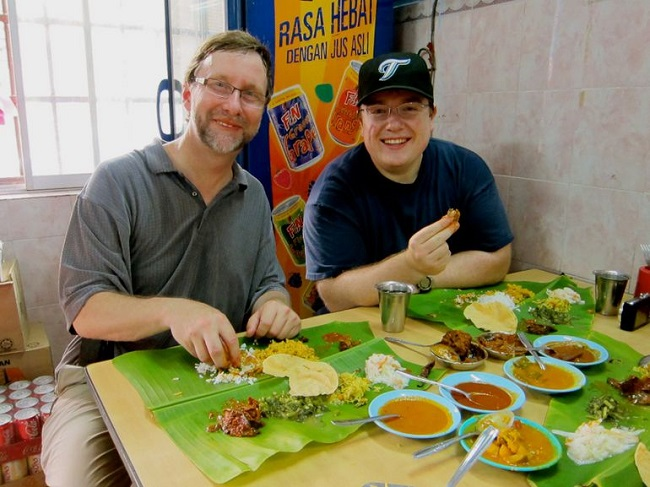 Banana leaves enhance the flavor of food