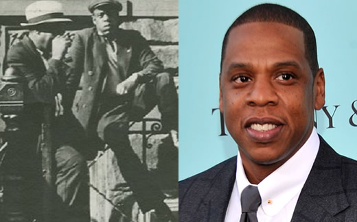 Jay Z and the man in Harlem 1939