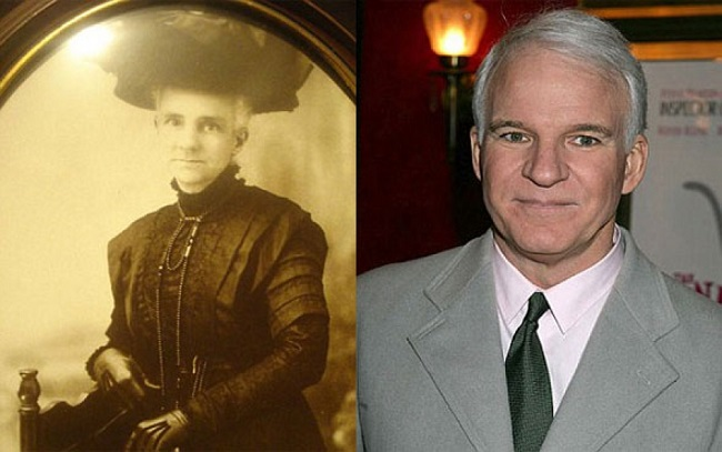 Steve Martin and a Victorian woman
