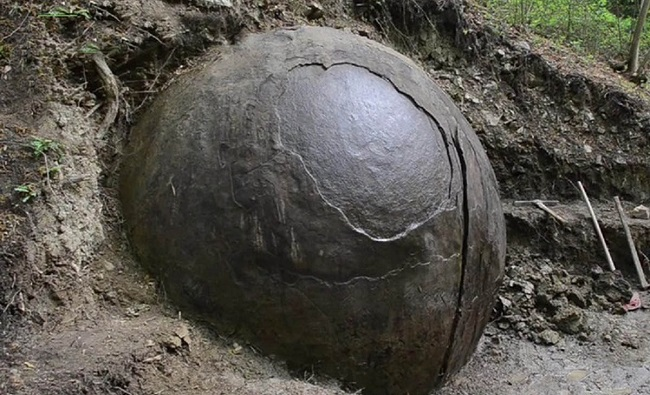 The Giant Stone Sphere discovered in Bosnia