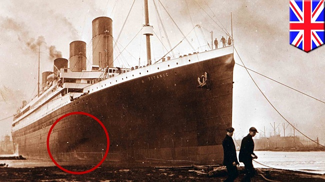 There was a fire on the Titanic before she sailed