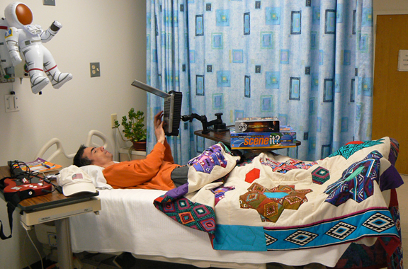 NASA volunteers for bed rest studies