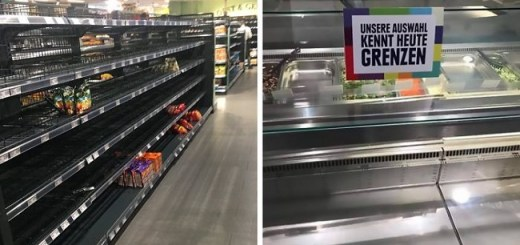 The Amazing Reason Why This German Superstore Emptied All Its Shelves for One Day to Prove a Point to Society