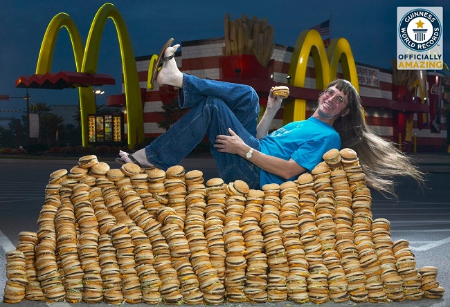 Most Big Macs consumed