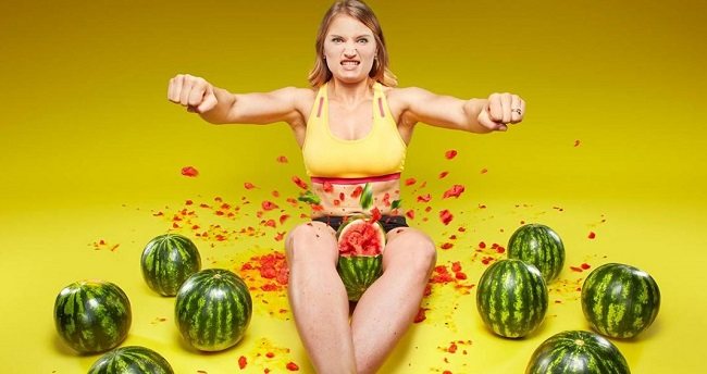 crushing watermelons world record