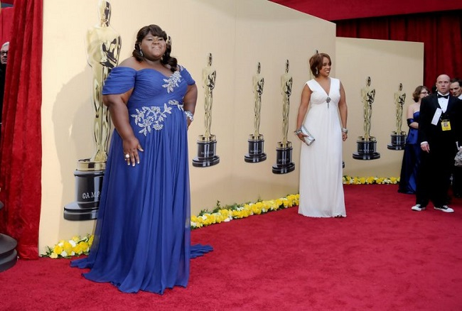 Gabourey Sidibe nominated for the Best Actress Award at Oscars