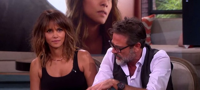 Halle Berry keeps herself going