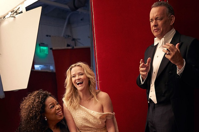 Oprah's three hands also drew hilarious reactions from the people