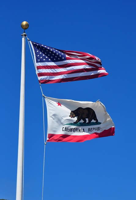 The California movement has posted throughout social media