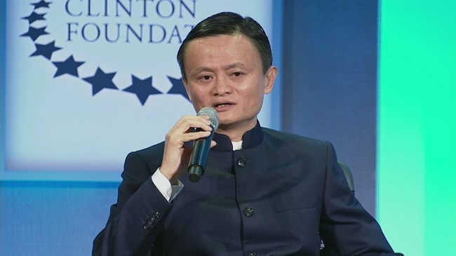 jack maa in clinton foundation